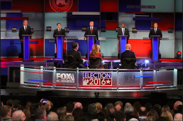 A Minute-By-Minute Replay of the Fourth Republican Debate