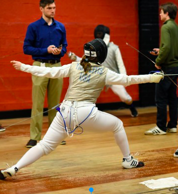 Swish and Flick: Fencing Team Goes to Playoffs