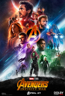 Poster for Avengers: Infinity War Movie