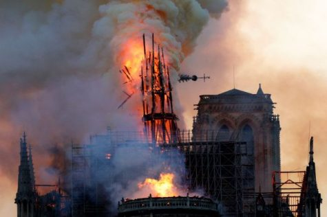 A Piece of France's Heart: The Burning of the Cathedral of Notre Dame de Paris