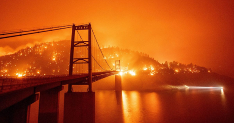 California Wildfires: A Scene From Hell